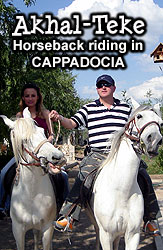 Horse riding tour in Cappadocia
